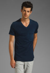 100%Cotton Men T-Shirt (MT000026) pictures & photos