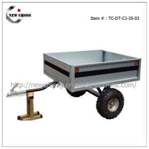 Single Axle Box Trailer (NCG-005-DT-CJ-35-03)