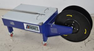 Yupack Low Table Semi Automatic Strapping Machine with Double Motor pictures & photos