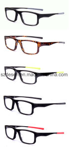 Good Quality New Model Tr90 Sport Eye Glasses Optical Frame pictures & photos