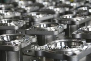 API Stainless Steel Flange Ball Valve pictures & photos