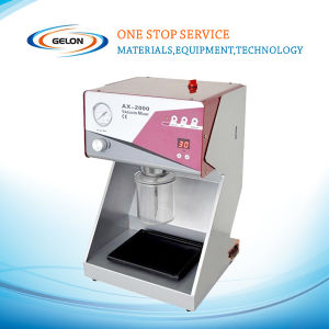 China Supplier Battery Mixer with Vibration Stage & Two Containers (150 / 500ml) pictures & photos