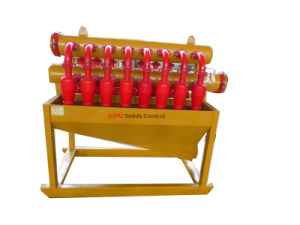 Professional Desander Plant Used Mud Slurry Desilter with Cyclone From pictures & photos