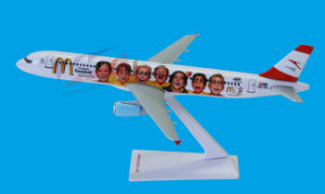 Professional Plane Model (A321) pictures & photos