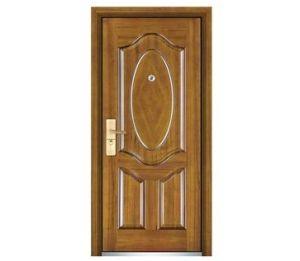 Popular Steel Wooden Door pictures & photos