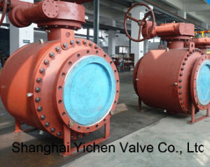 Trunnion Mounted 3PC Forged Steel Ball Valve pictures & photos