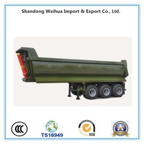 Ready Stock Tri-Axle Dumper Truck Trailer for Sale Promotion pictures & photos