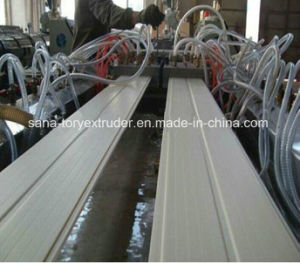 PVC Profile Extrusion Line for Door and Window/WPC Extrusion Line pictures & photos