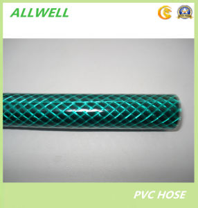 "PVC Fiber Braided Water Irrigation Green Garden Pipe Hose 3/4"" pictures & photos"