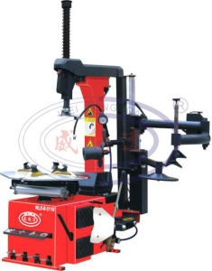Automatic Tire Changer Wld-R-511r (tilting column/ right assistant arm) pictures & photos