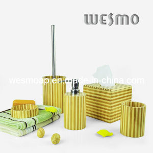 Stripe Bamboo Bath Accessory (WBB0329A) pictures & photos