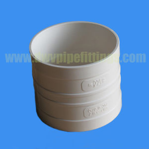 Dwv Pipe Fitting PVC Drainage Reducing Coupling pictures & photos
