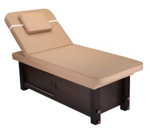 Cheap Beauty Salon Bed Massage Table with Wood Base (MY-Z3324C) pictures & photos