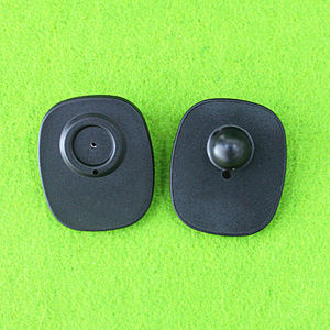 Black Anti Theft Tag for Bags EAS RF Mini Square Tag pictures & photos