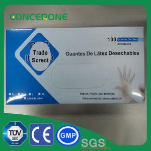 Latex Non Sterile Examination Powdered Glove pictures & photos