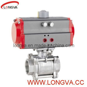 Pneumatic Actuator Ball Valve Stainless Steel Valve pictures & photos