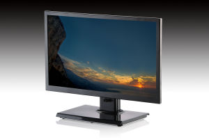 27-Inch Plastic Professional LCD Monitor with Alloy Shell Stand