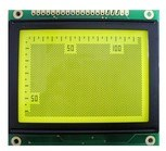 COB LCD Screen Stn Type 128X128 with Yellow-Green Backlight pictures & photos
