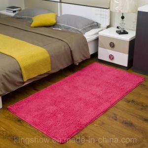 Home Bedroom Tufted Microfiber Chenille Rug Carpet (80*200)
