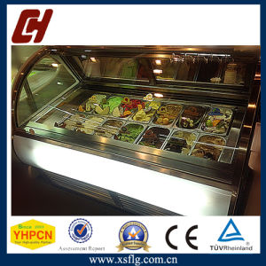 Gelato Vitrine Freezer De Sorvete/Ice Cream Display Cases pictures & photos