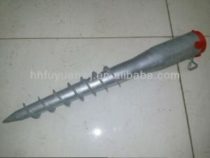 Factory Solar Mounting Ground Screw Piles pictures & photos
