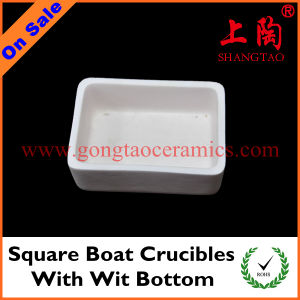 Square Boat Crucibles with Wit Bottom pictures & photos