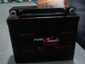 PE7b-BS 12V7ah Maintenance Free Lead Acid Motorcycle Battery pictures & photos