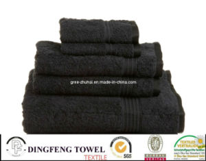 Promotion Use 100% Cotton Plain Dyed Bath Towel pictures & photos