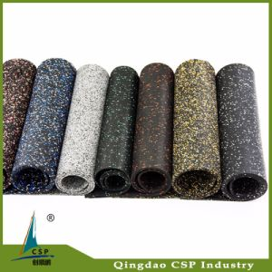 8mm Black Rubber Flooring for Gym Fitness pictures & photos