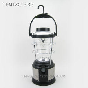 12PCS LED Camping Lantern with Compass (T7067) pictures & photos