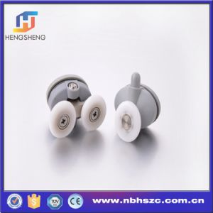 Plastic Single and Double Shower Roller with Ball Bearing pictures & photos