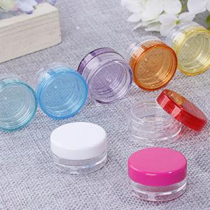 Plastic Small Cream Jar, Cosmetic Jar 4ml 7ml (NJ70) pictures & photos