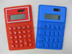 Silicone Foldable 8 Digits Calculator pictures & photos
