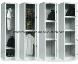 Steel Metal Iron One Tier Door Locker pictures & photos