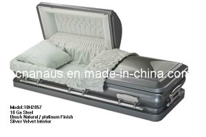 18ga Steel Casket Us Style 18h2057 pictures & photos