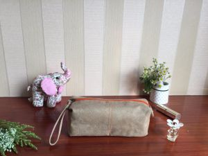 Canvas Cosmetic Bag pictures & photos
