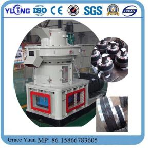 Vertical Ring-Die Peanut Shell Pellet Mill pictures & photos