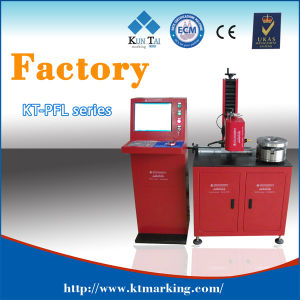 Pneumatic DOT Pin Marking Engraving Machine for Flange pictures & photos