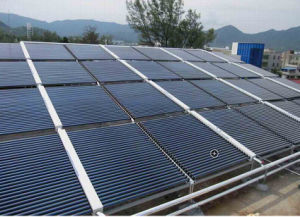 Split Non Pressure Solar Collector for Project pictures & photos