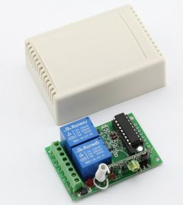 12V 2-Channel Wireless Receiver Module with Fixed Code (ES-K201) pictures & photos