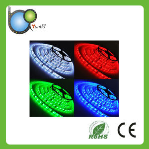 CE RoHS Appoved 12V Flexible RGB LED Strip pictures & photos