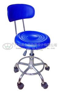 Modern Laboratory Chair with Back