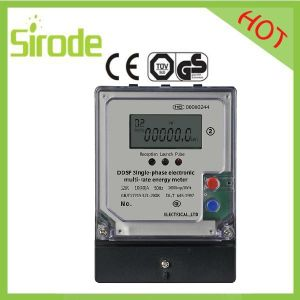 Ddsf794 Type Electronic Single-Phase Multi-Rate Energy Meter