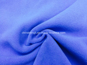 100%Poly 150d/144f Micro Polar Fleece Polyester Brushed Knitted Fabric for Jacket pictures & photos