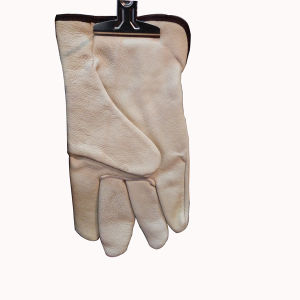 Professional Cow Split Leather Gloves pictures & photos