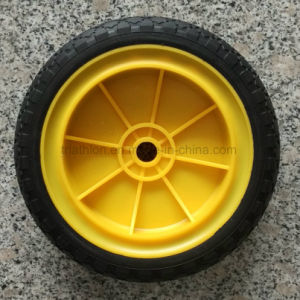 200-50 8X2 Solid PU Foam Flat Free Tire pictures & photos