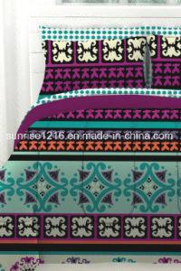 Quilt Sr-CS170222-13 Printed Microfiber Comforter Set pictures & photos