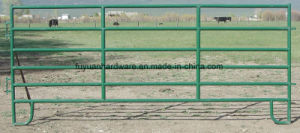 Portable Zinc Spraying Painting Cattle Yard Panel pictures & photos