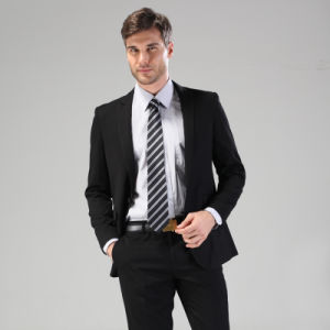 China Black Business Men Suit Uniform - China Suit, Men Suit