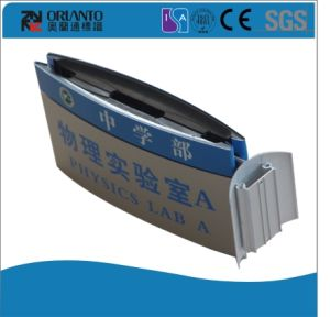 Aluminium Curved Wall Mounted Advertising Sign pictures & photos
